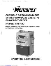memorex mks5012 manuals rh manualslib com Owner's Manual memorex optifix pro instruction manual