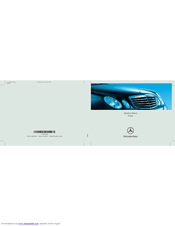 2008 mercedes benz e350 manual