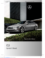 mercedes benz 2010 cls550 manuals rh manualslib com 2009 mercedes cls550 owners manual 2008 mercedes benz cls 550 owners manual