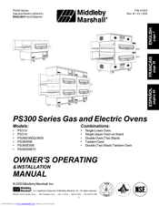 Middleby Marshall Ps360 Series Manuals