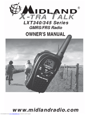 Midland LXT345 Series Owner's Manual