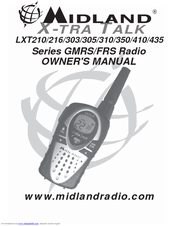 Midland LXT 310 series Owner's Manual