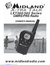 Midland LXT360VP3 Owner's Manual