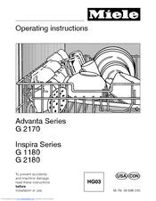 miele advanta g 2170 operating instructions manual pdf download rh manualslib com