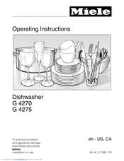 Miele Classic G 4270 SCVi Manuals