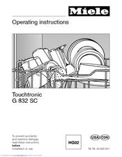 Operating instructions incognito g 658 scvi g 858 scvi miele. Ca.