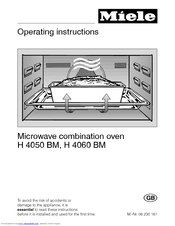 Manuals And User Guides For Miele H 4060 Bm We Have 1 Manual Available Free Pdf Operating Instructions