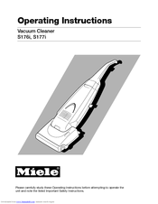 Miele S177i Operating Instructions Manual