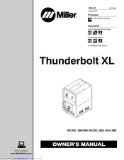 miller electric thunderbolt xl manuals rh manualslib com Thunderbolts Manual Logo miller thunderbolt xl owners manual