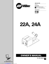 MILLER ELECTRIC 22A OWNER'S MANUAL Pdf Download