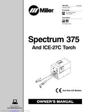 miller electric spectrum 375 manuals rh manualslib com Miller Plasma Cutter Miller Spectrum 625