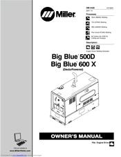 miller electric big blue 600 x manuals