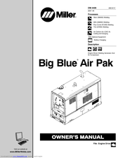 miller big blue air pak manual
