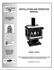 Lennox EARTHSTOVE 1500HT Manuals