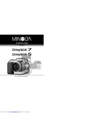 minolta dimage 5 instruction manual pdf download rh manualslib com Minolta DiMAGE 7I Minolta DiMAGE Scan Dual