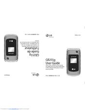 lg telus gb255g manuals rh manualslib com LG 800G Manual Verizon LG Flip Phone Manual