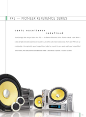 Pioneer CD-VS33 Catalog