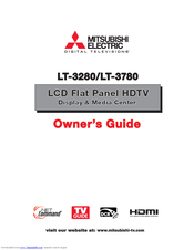 Mitsubishi Electric LT-3780 Owner's Manual