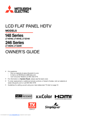 Mitsubishi electric lt 52246 manuals fandeluxe Image collections