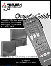 mitsubishi ws 65869 manuals rh manualslib com Mitsubishi TV Mitsubishi TV
