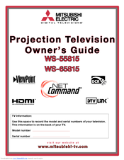 mitsubishi electric ws 55815 manuals rh manualslib com Mitsubishi Ads Mitsubishi Ads