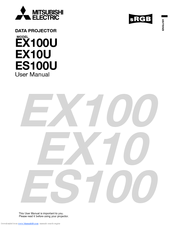 Mitsubishi Electric EX10U User Manual