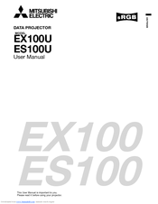 Mitsubishi ES100U User Manual