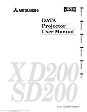 mitsubishi xd200u manuals rh manualslib com Mobile Phone Projector Manual mitsubishi projector xd280u user manual