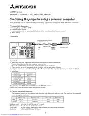 mitsubishi xl5900u manuals rh manualslib com Mitsubishi Montero Engine Manual Mitsubishi Lancer Automatic or Manual