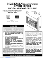 Monessen Hearth Natural Vent Gas Fireplace Sbv400 3123978