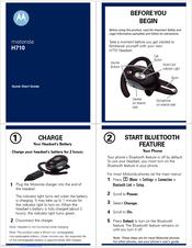 motorola h710 headset over the ear manuals rh manualslib com Motorola H710 Pairing Code User Manual Motorola H710