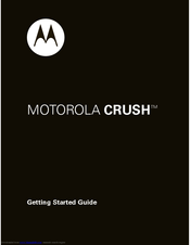 Motorola 68000202316-A Getting Started Manual