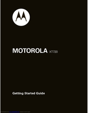 Motorola 68000202986-A Getting Started Manual