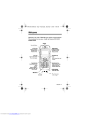 Motorola C550 Series User Manual