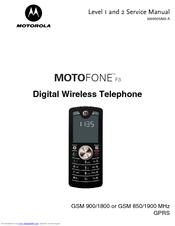 manuale motofone f3