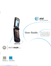 Motorola MOTORAZR V3xx User Manual