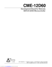 Motorola CME-12D60 User Manual