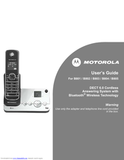 Motorola B804 User Manual