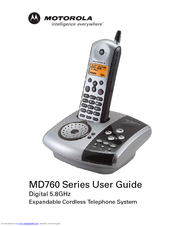 Motorola md761 User Manual