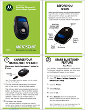 motorola t305 bulk manuals rh manualslib com Kindle Fire User Guide motorola bluetooth t305 user manual