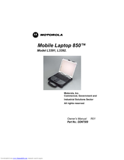 Motorola 850 Owner's Manual