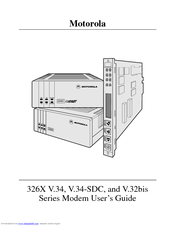 Motorola 326X V.34 User Manual