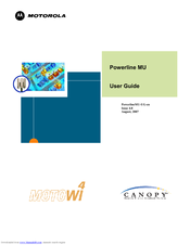 Motorola Canopy Powerline MU User Manual