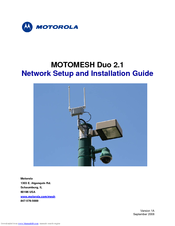 Motorola 2.1 Networking Setup Manual