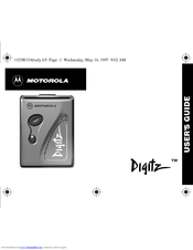 Motorola 6881029B15-A User Manual