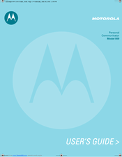 Motorola 9 User Manual