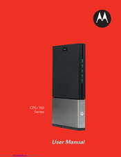 Motorola CPEi 750 Series User Manual