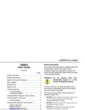 Motorola GM950 User Manual