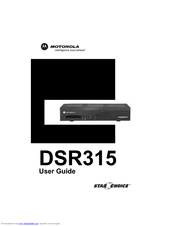 Motorola DSR315 User Manual