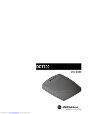 Motorola DCT700 User Manual